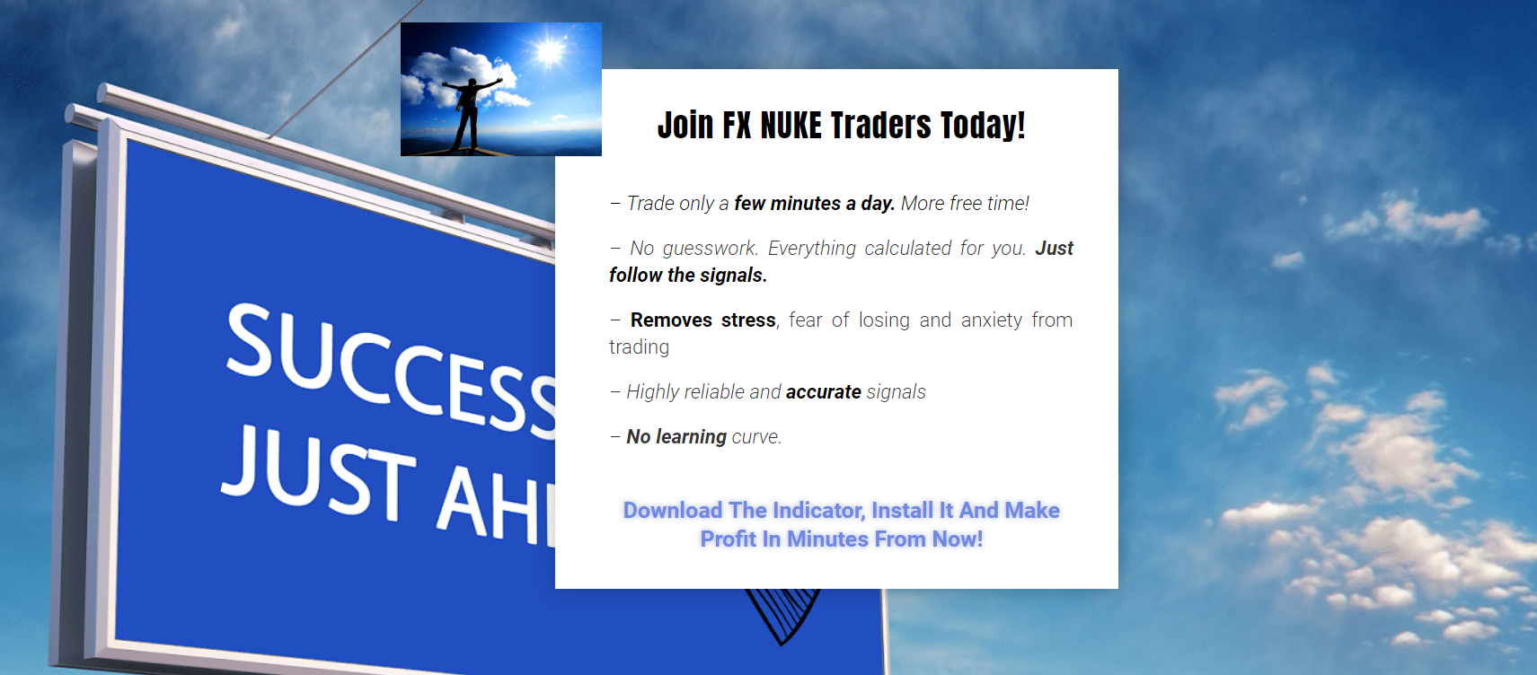 Forex Nuke Signals Trading Strategy -